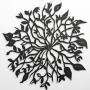 'The Bird & The Key' Small woodcut, 25cm diameter, $83