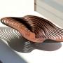 Sue Codee – Amoeba Bowl – jarrah, 52cm, $150