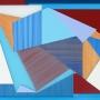Sanne Koelemij – Paper Plains IX – acrylic on Perspex