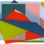 Sanne Koelemij – Paper Plains X – acrylic on Perspex