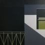 Serge Tampalini – She Loves You, Yeah, Yeah, Yeah, Yeah – acrylic on canvas, 105 x 105cm, $3500