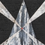 Monique Tippett – Termite – jarrah, ash, silver leaf, 21 x 21cm, $500