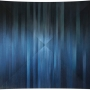 Monique Tippett – Transition Night – blackbutt veneer, acrylic, silver leaf and lacquer on board, 118 x 125cm, $5000