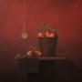 Michael Vincent Murphy – Mango Time – acrylic on canvas, 76 x 76cm, $4500