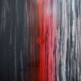 Monique Tippett – Ignition Point – jarrah veneer, inks and lacquer on board, 119 x 120cm, $5800