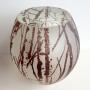 Nicole Ayliffe – Optical Landscape Forest – glass, 19 x 17cm, $1850