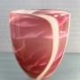 David Hay – Graal vase lilac pink – glass, 25 x 20cm, $720