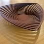 Sue Codee – Three Point Bowl – jarrah veneer, 35cm wide, $130
